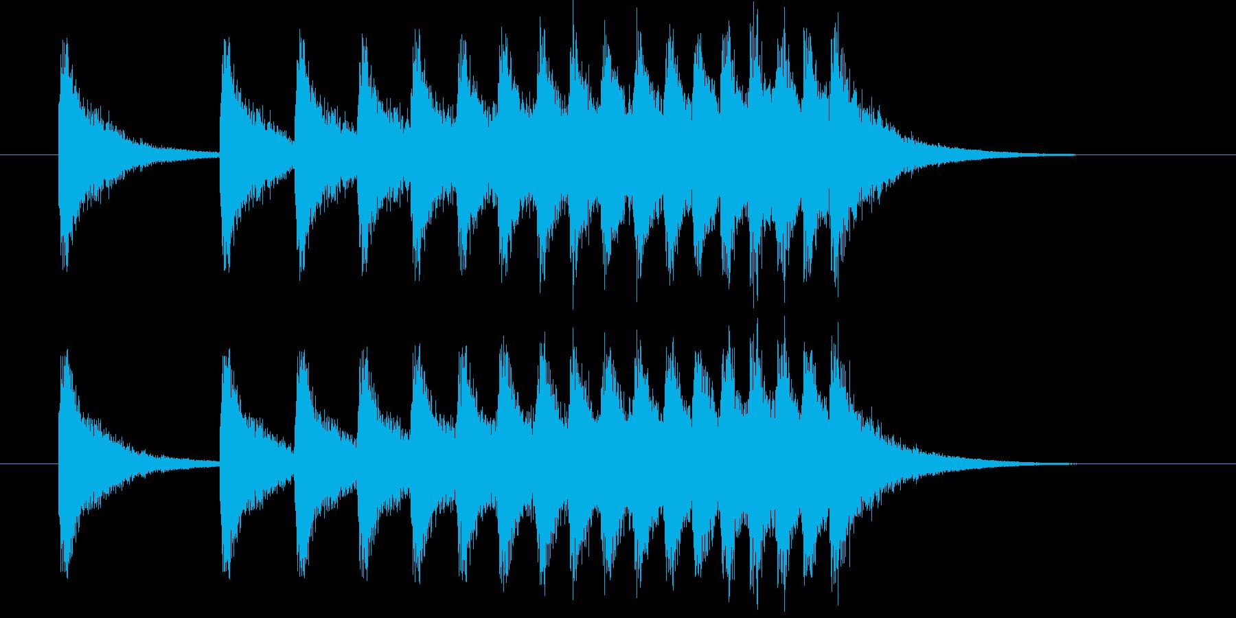 [シャン]中華風シンバル/中国/01の再生済みの波形