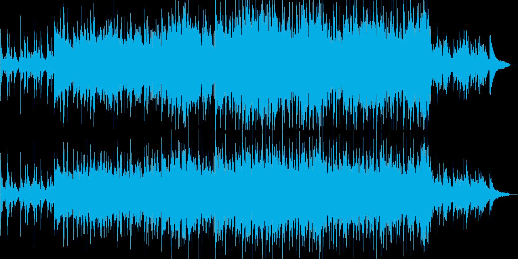 感動的・バラード・ピアノ・イベント・映像の再生済みの波形