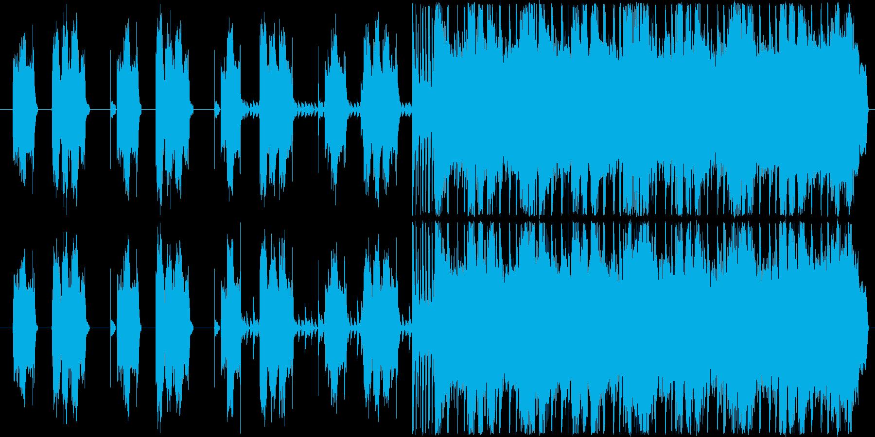 車のCMに使われているようなロックな感…の再生済みの波形