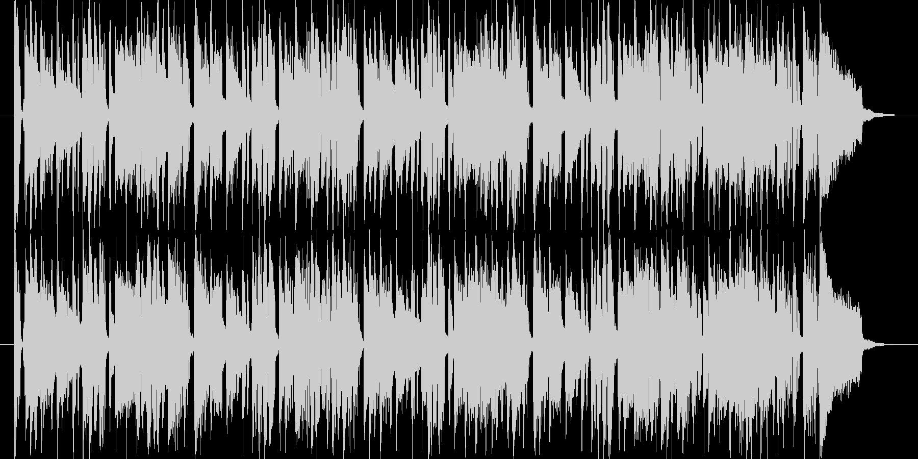 アコーディオンが可愛くて爽やかな曲の未再生の波形