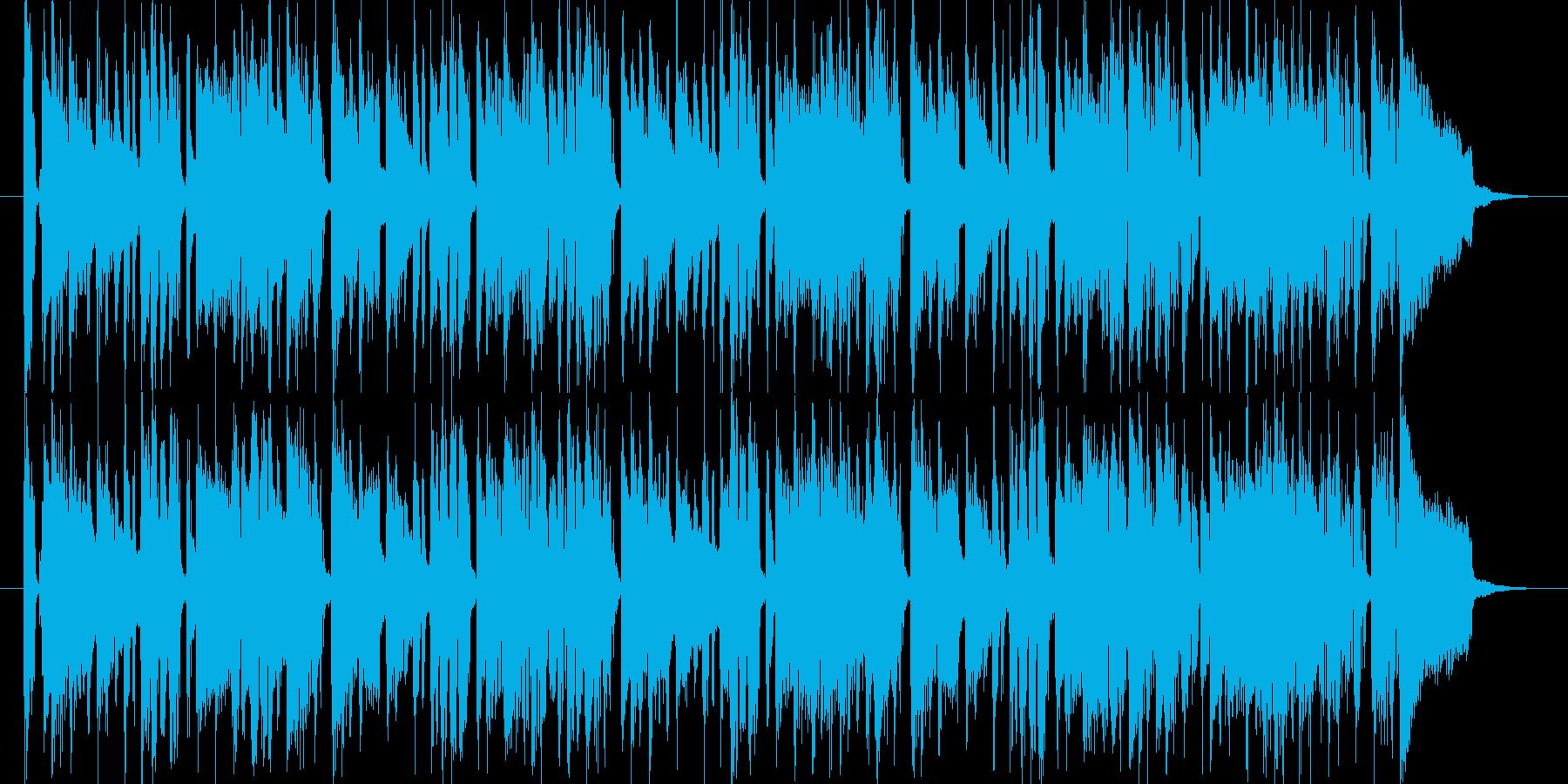 アコーディオンが可愛くて爽やかな曲の再生済みの波形