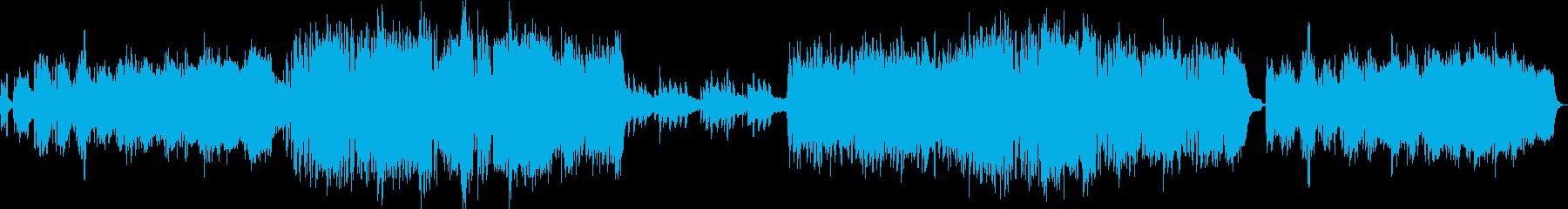 南国のさわやか系楽曲の再生済みの波形