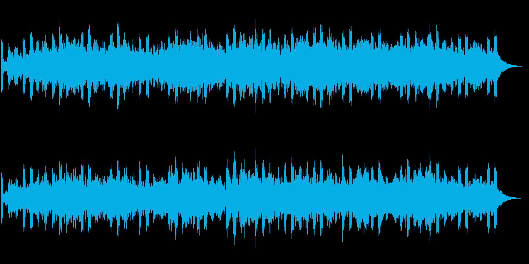 ミリマリスティックな壮大なジングルの再生済みの波形