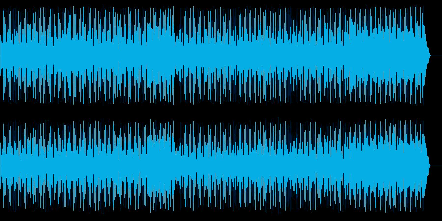 家族団欒風のんびりポップ(フルサイズ)の再生済みの波形