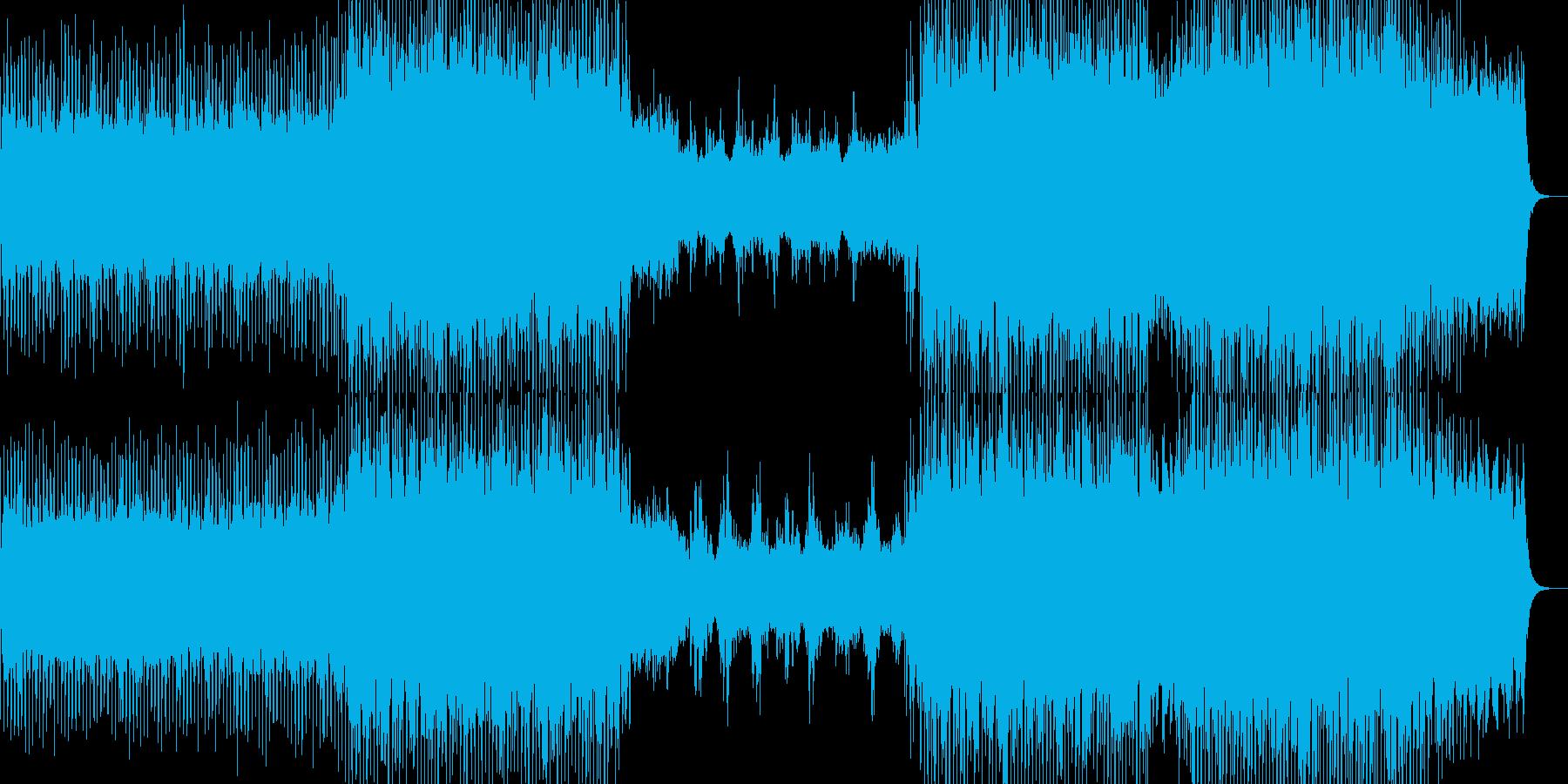イージーリスニングー水泡の再生済みの波形