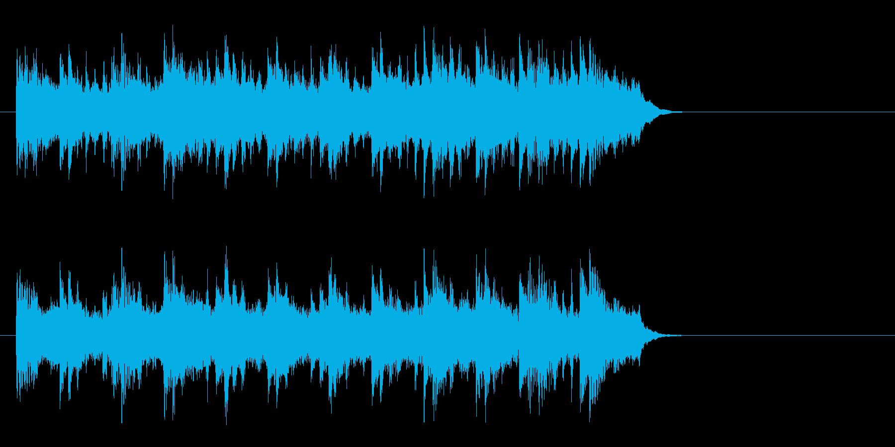 ブライダル風バラード(イントロ)の再生済みの波形