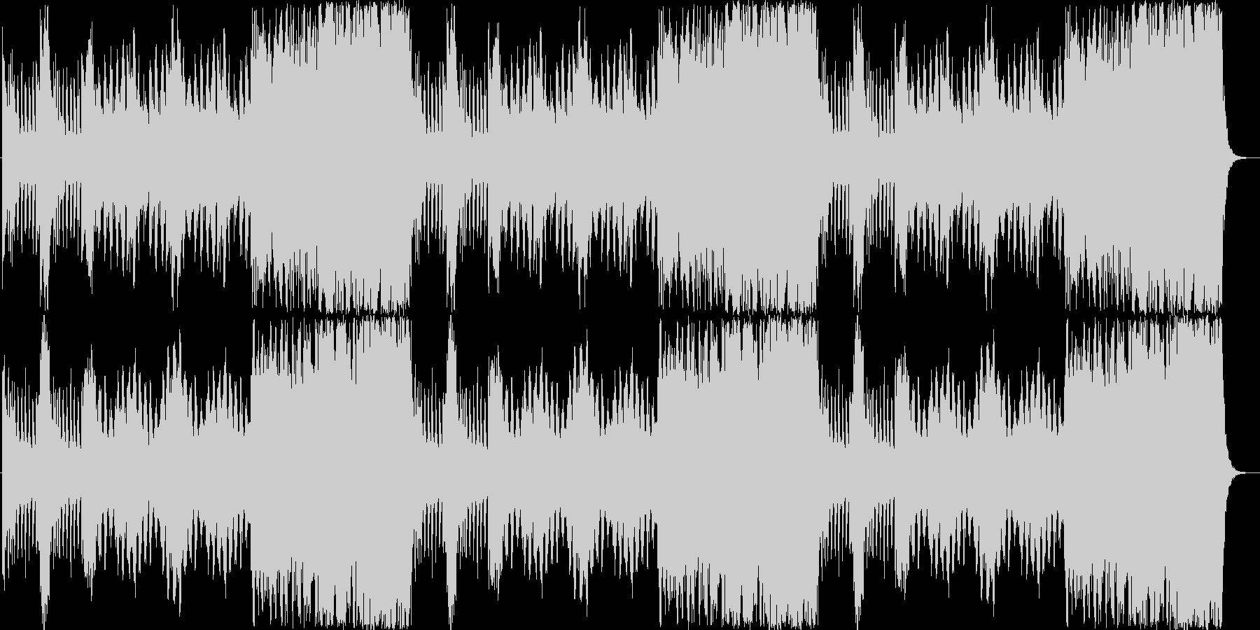 RPG トップ画面用BGM・30秒ループの未再生の波形