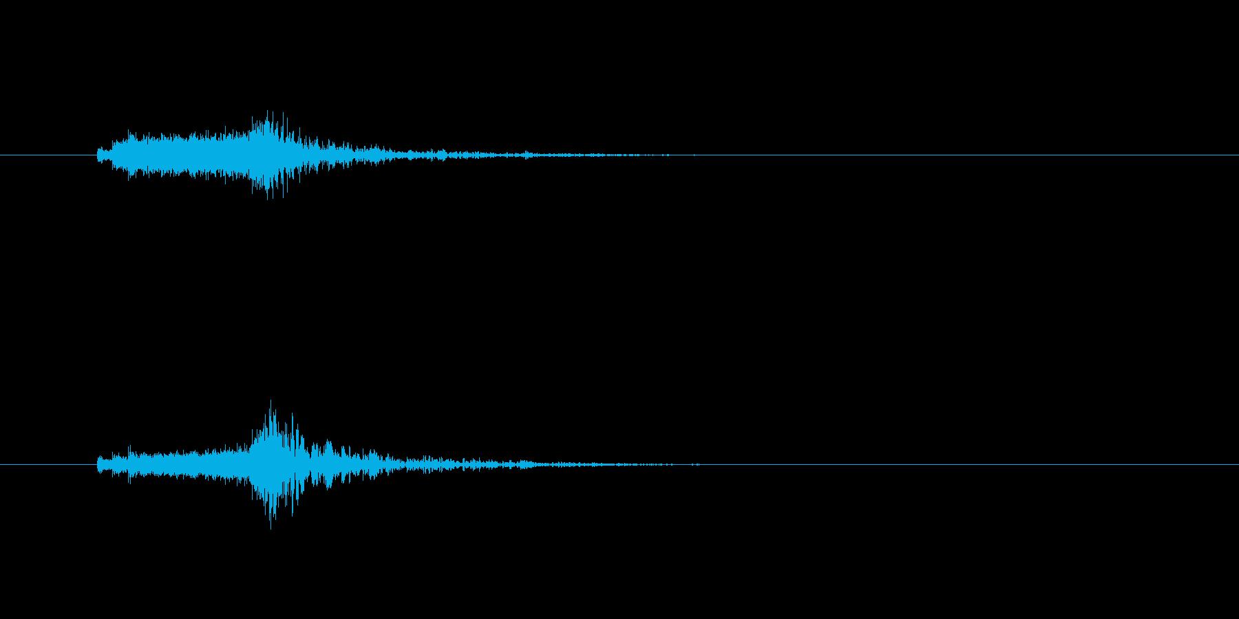 ジングル(SE向き)の再生済みの波形