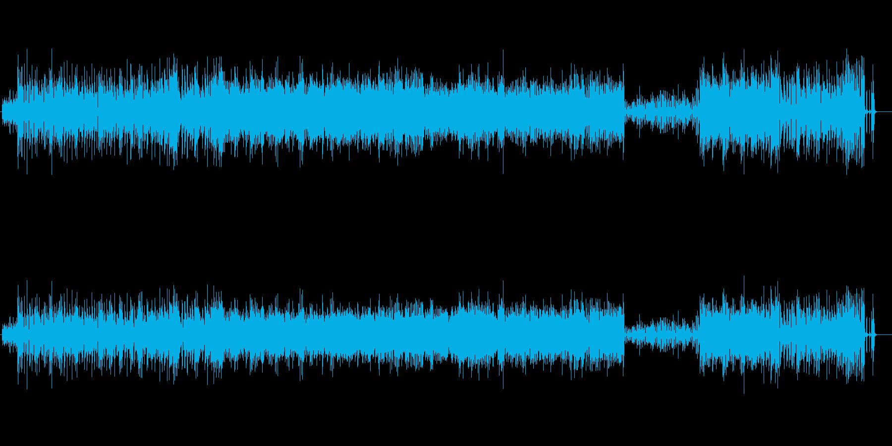 コミカルな雰囲気のスウィングピアノジャズの再生済みの波形