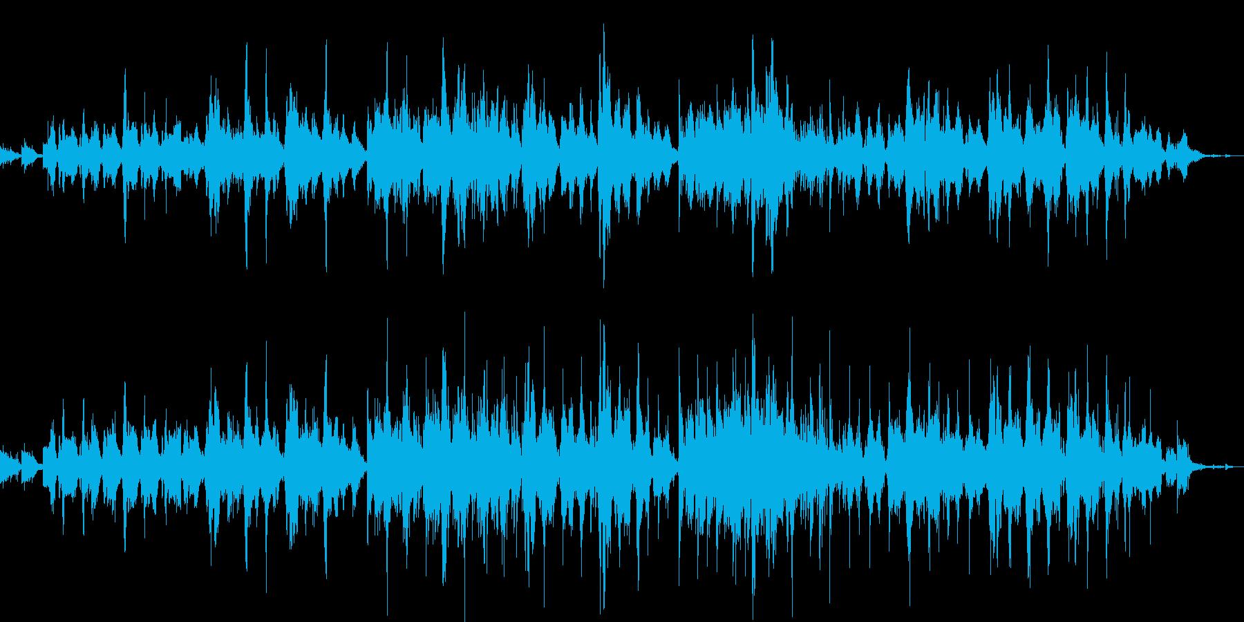二胡の生演奏による神秘的でゆったりした曲の再生済みの波形