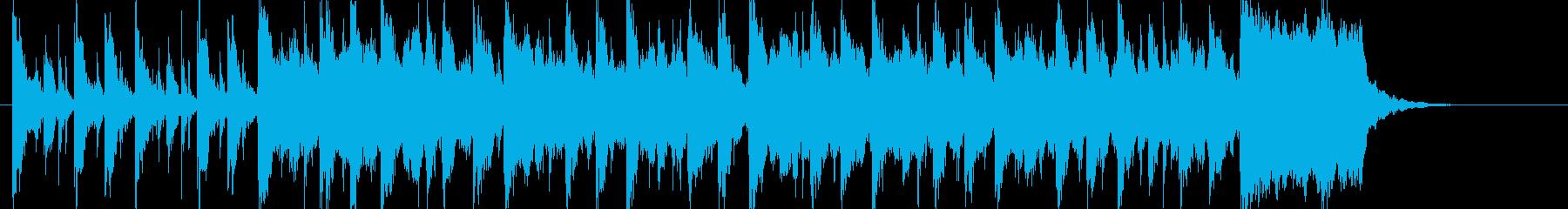 ちょっと奇妙でコミカルな登場シーンの再生済みの波形