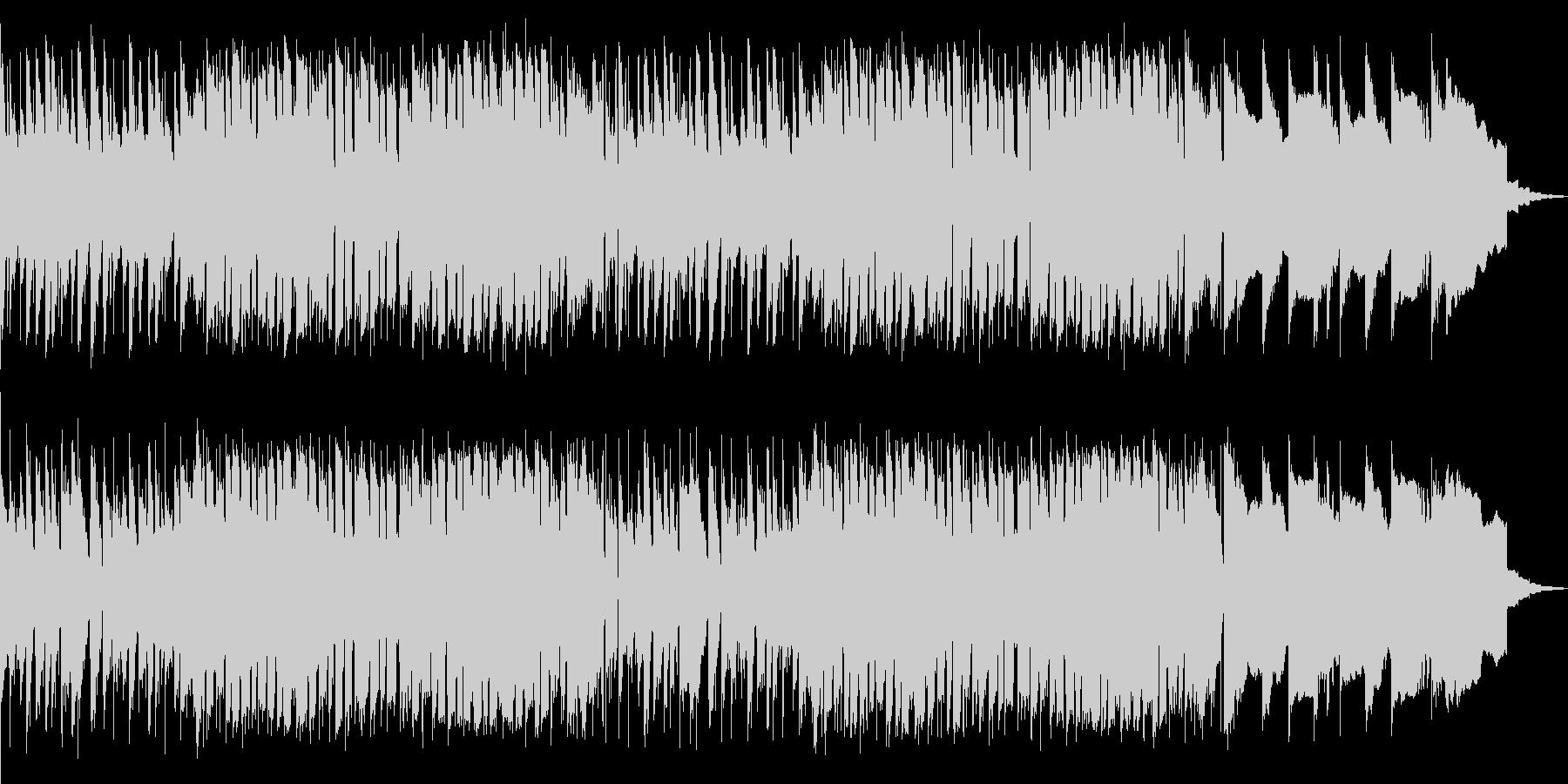 動画の一場面に最適な心地良いBGMの未再生の波形
