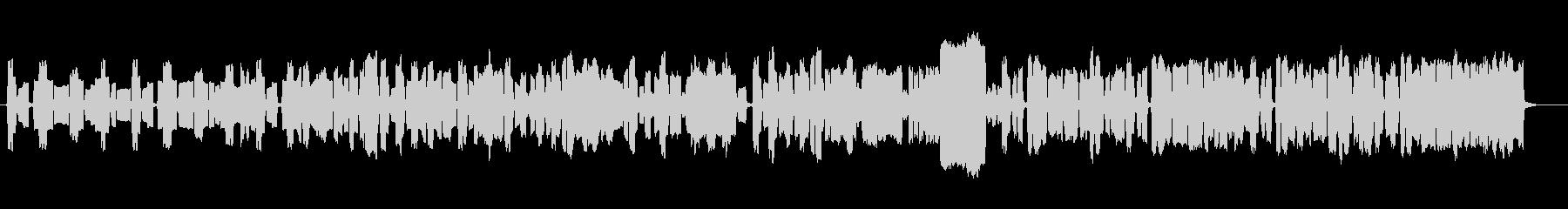 フルートクラリネットバスーン陽気な三重奏の未再生の波形