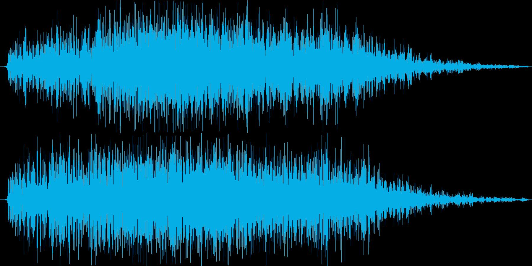 ガオー。Logic proの物理モデル…の再生済みの波形