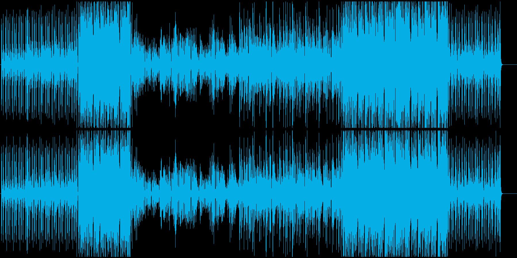 力強いアコースティックバラードの再生済みの波形