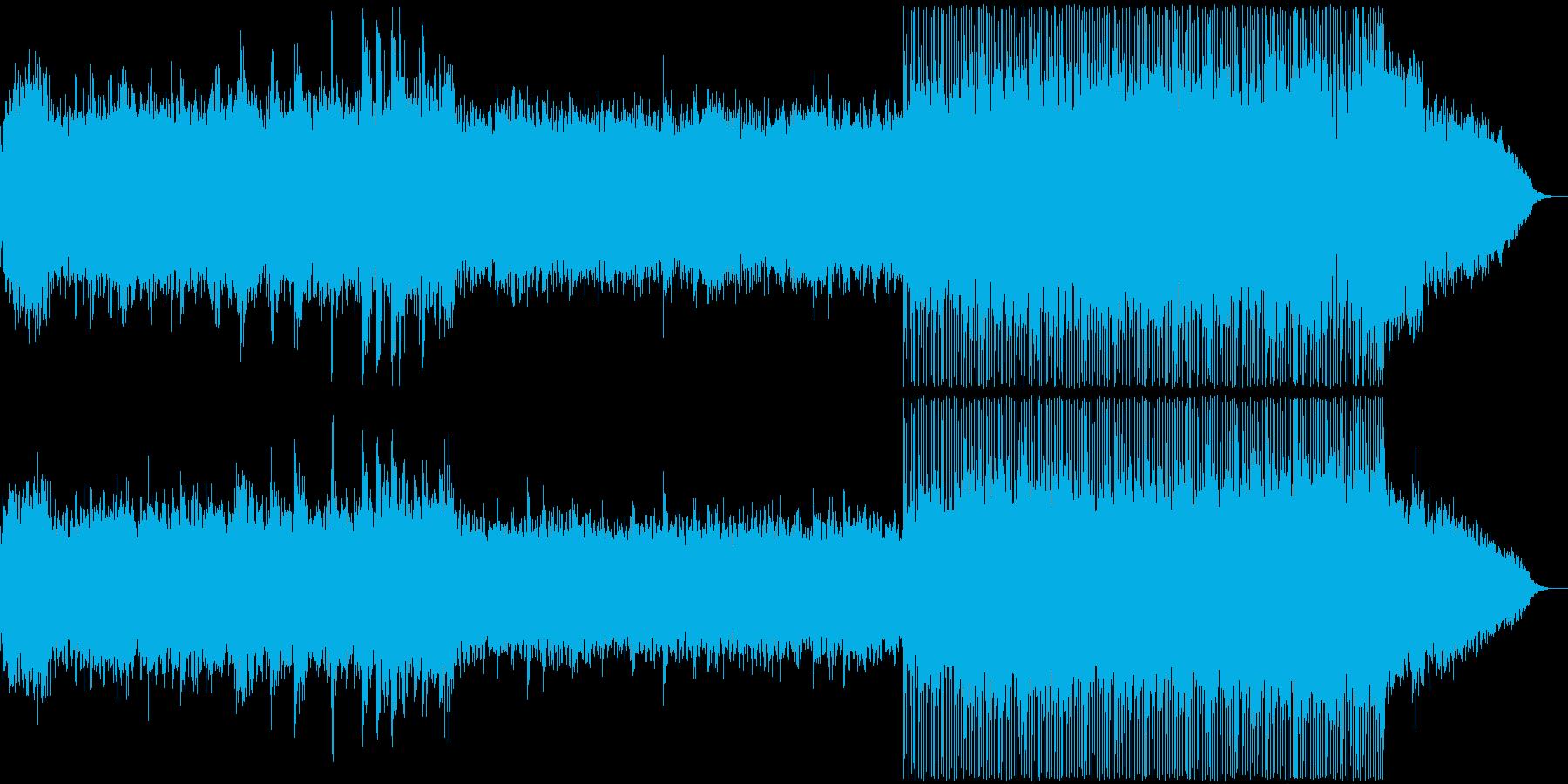 感動表現、CM,ブライダル、フルverの再生済みの波形