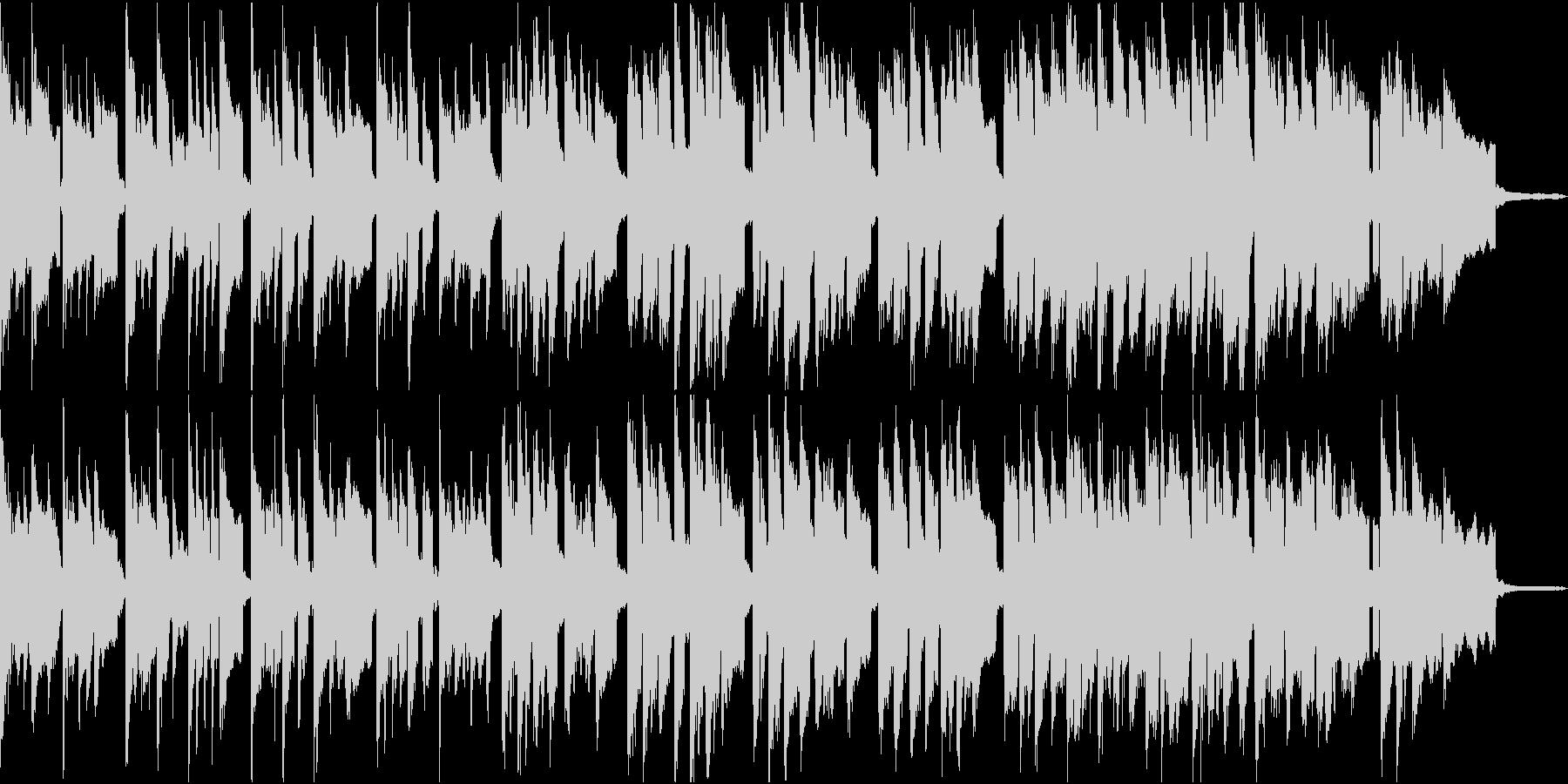 夏祭りにぴったしのほのぼの音楽の未再生の波形