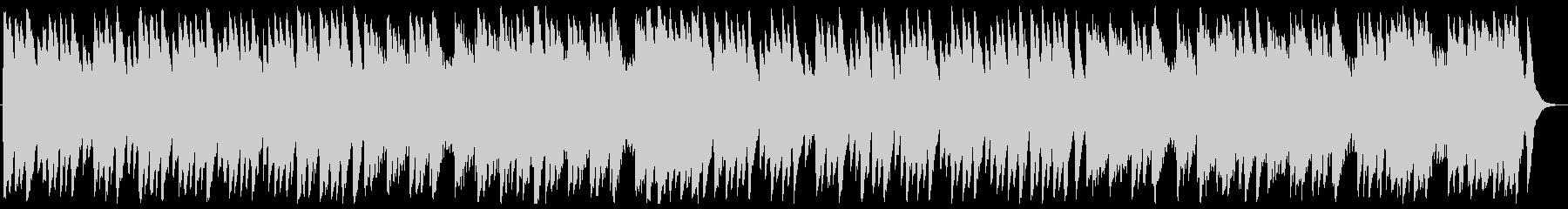 ジングルベル オルゴールの未再生の波形