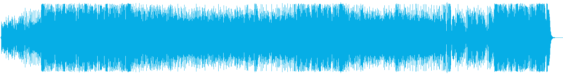 疾走感のある現代的シンセポップの再生済みの波形