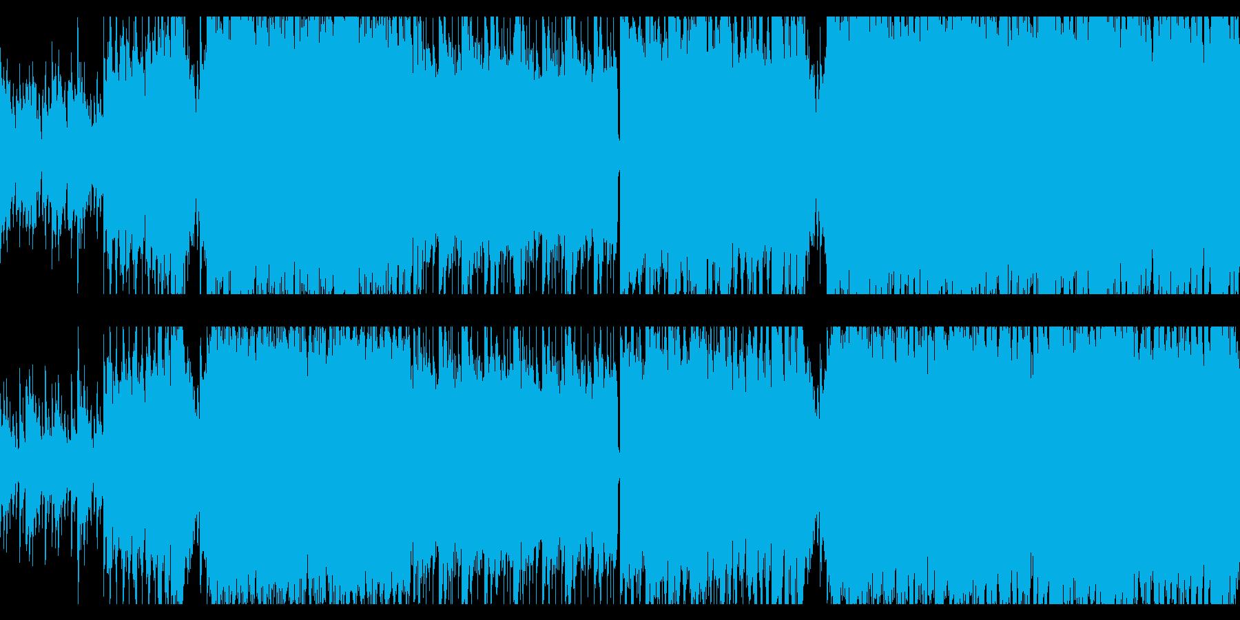 爽やかな雰囲気のDancemusicですの再生済みの波形