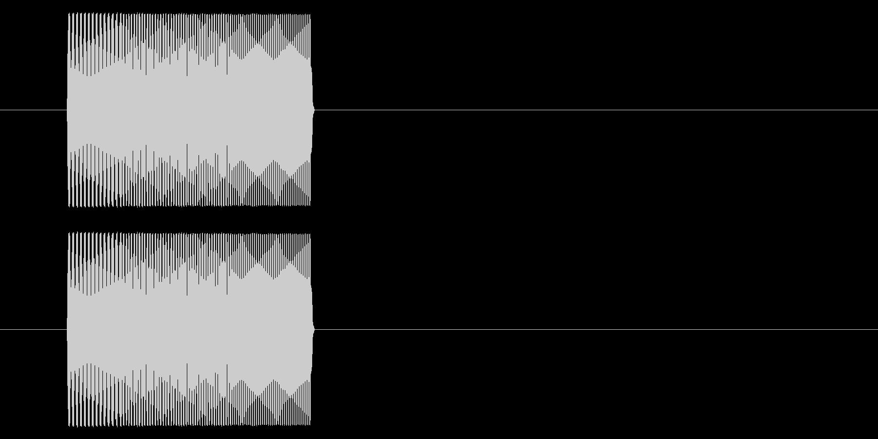 NES シューティング01-8(スコア)の未再生の波形