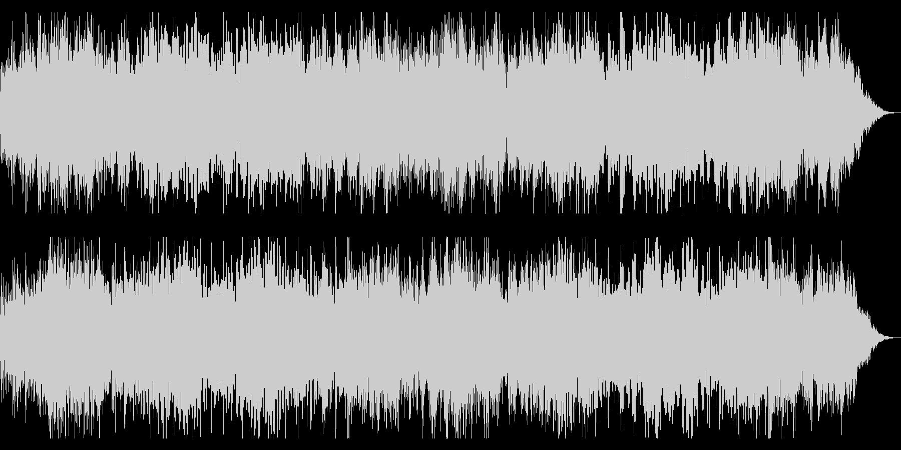 ダークでミステリアスなBGM 恐怖感演出の未再生の波形