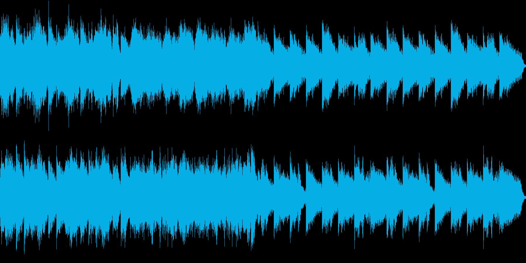 綺麗な風景に合う曲/ループ可の再生済みの波形
