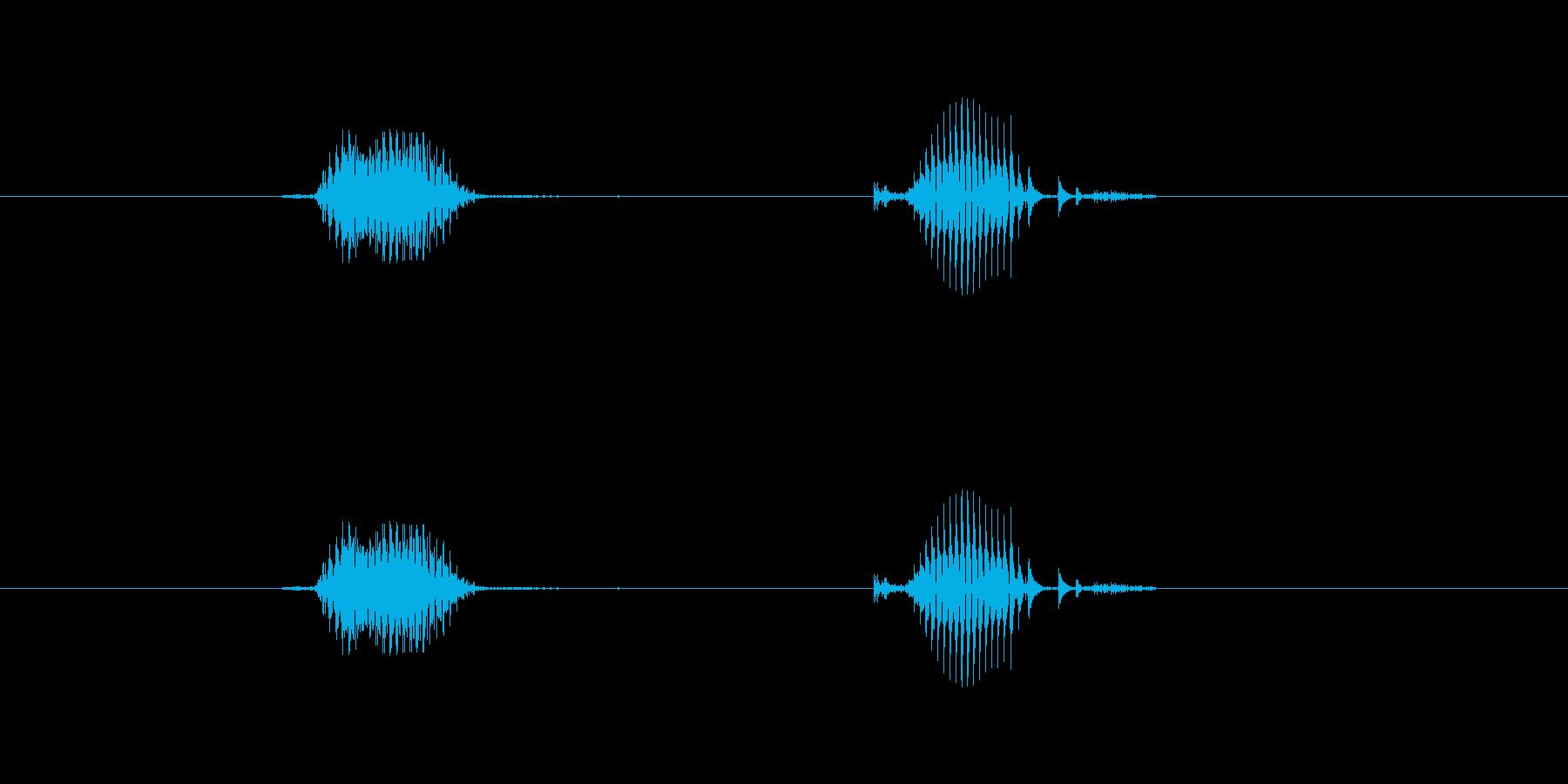 【日】4日の再生済みの波形