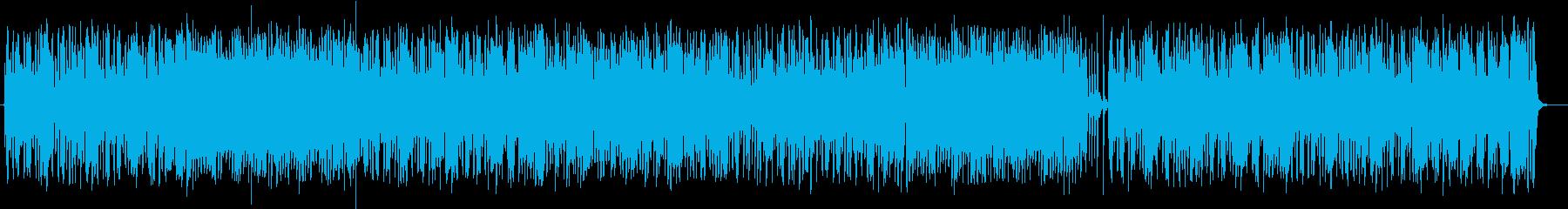 ポップで軽快なバイオリンクラシックの再生済みの波形