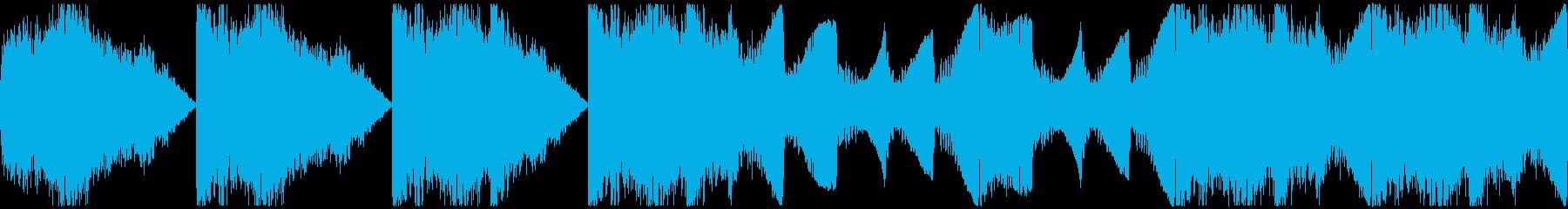 【ダーク/ホラー/ファンタジー/BGM】の再生済みの波形