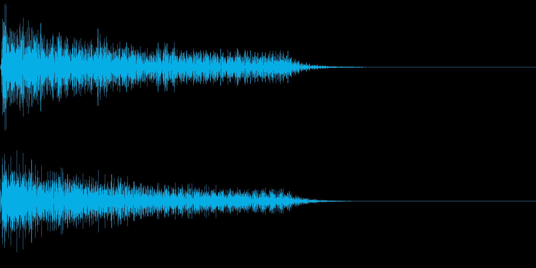 ポーン(感情:汗)の再生済みの波形