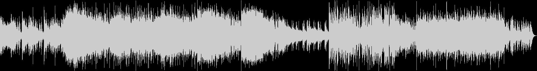 ドシっとしたダークでヘヴィなメタル交響曲の未再生の波形