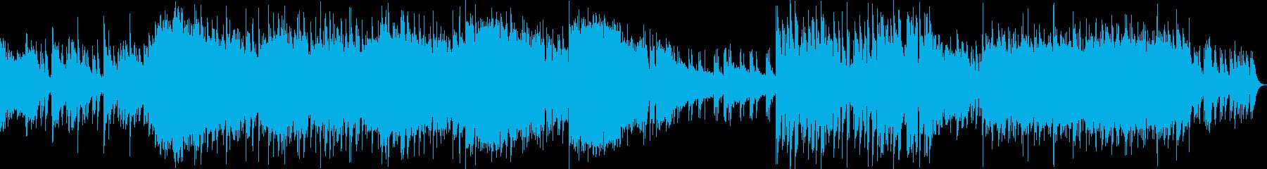 ドシっとしたダークでヘヴィなメタル交響曲の再生済みの波形