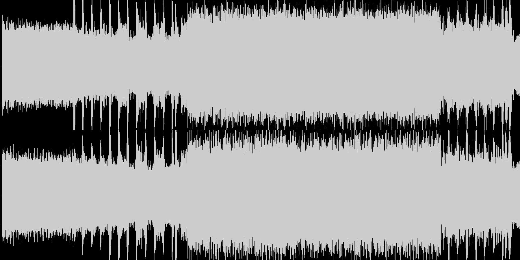 SEの未再生の波形