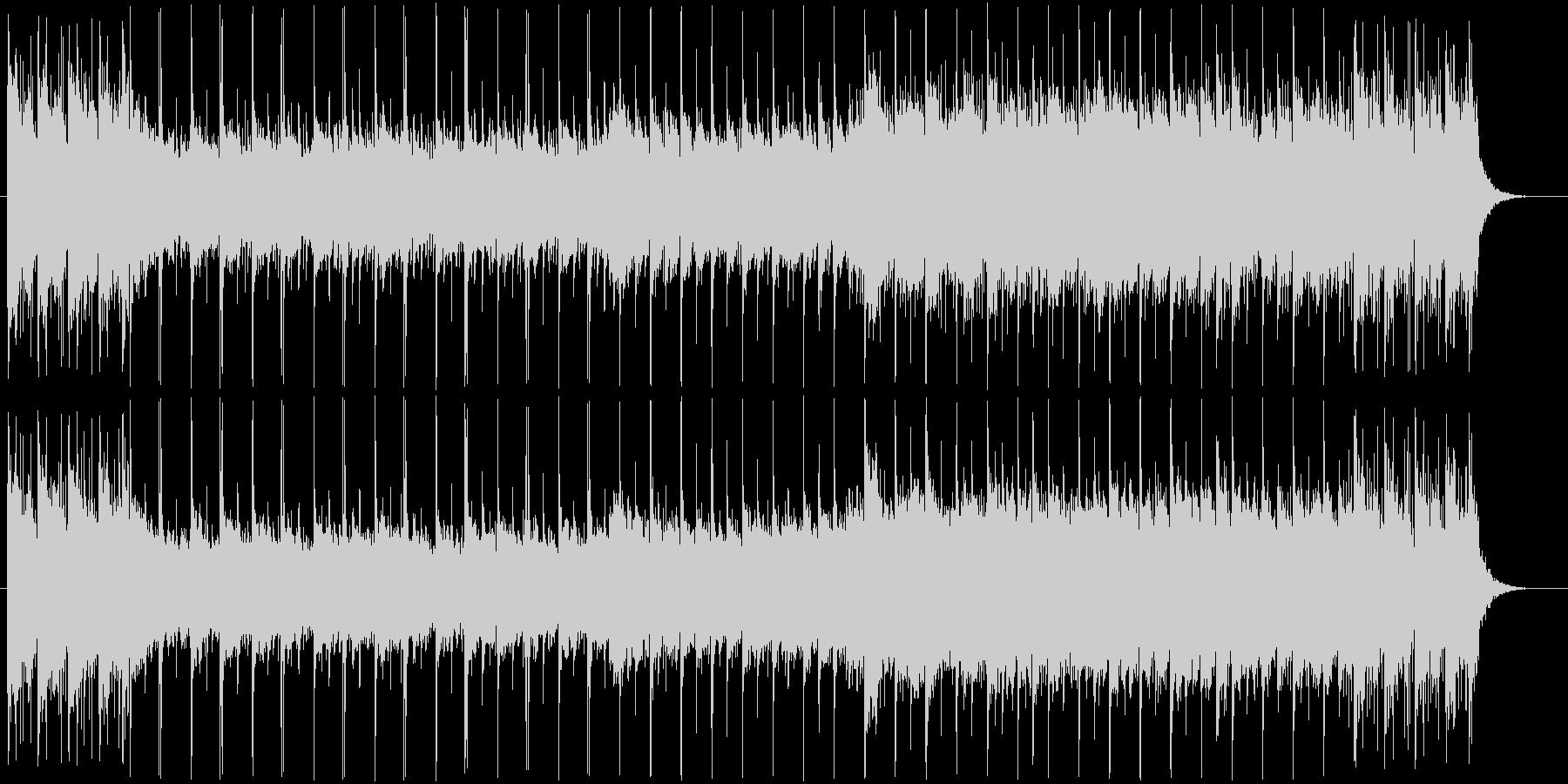 バクパイプが印象的で爽やかなポップバンドの未再生の波形