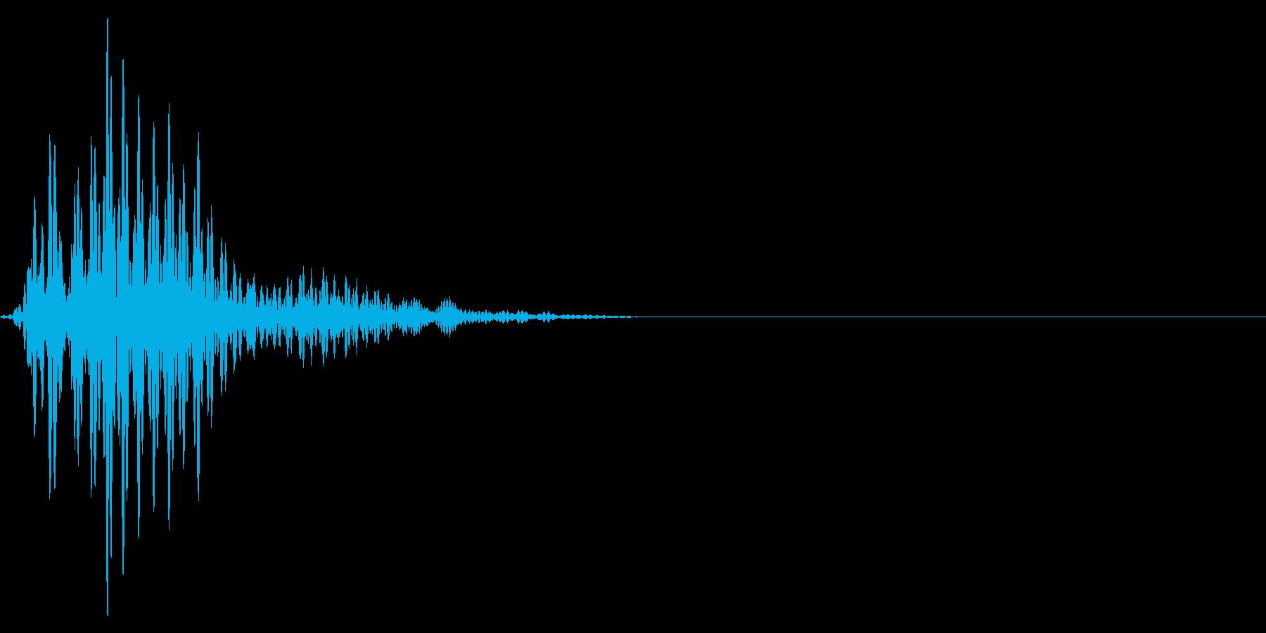 ゲーム掛け声ゾンビ1ンン?1の再生済みの波形