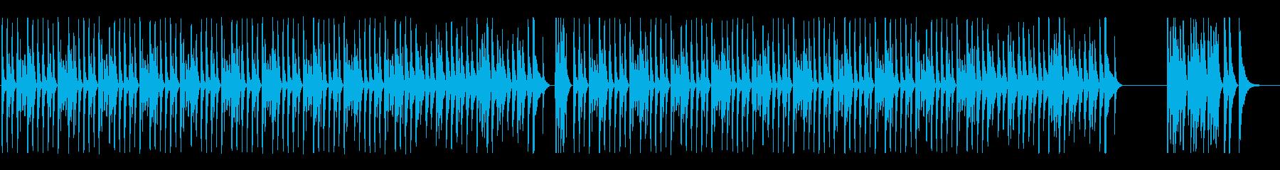 のんびり日常系の再生済みの波形
