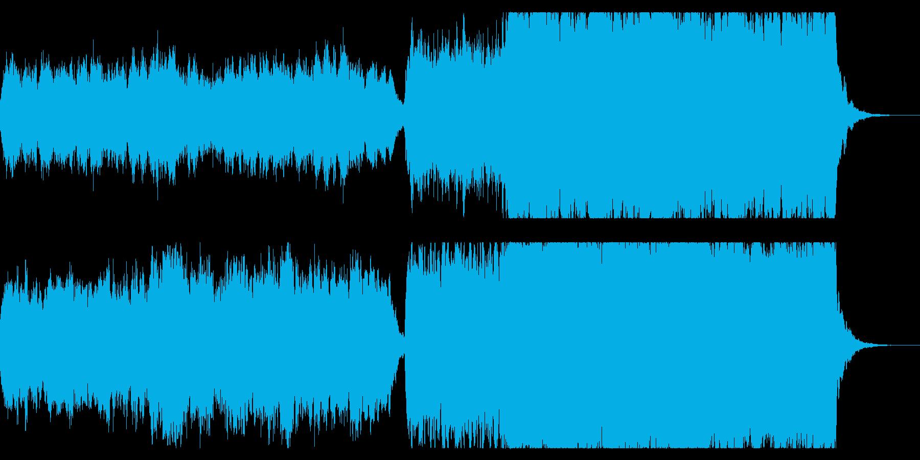 戦士の丘 ファンタジックなオープニングの再生済みの波形