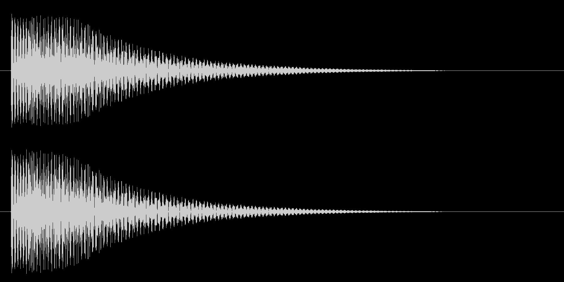 トゥルンの未再生の波形