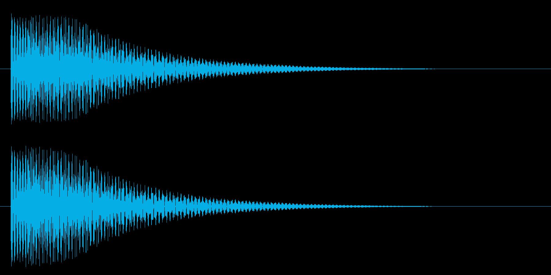 トゥルンの再生済みの波形