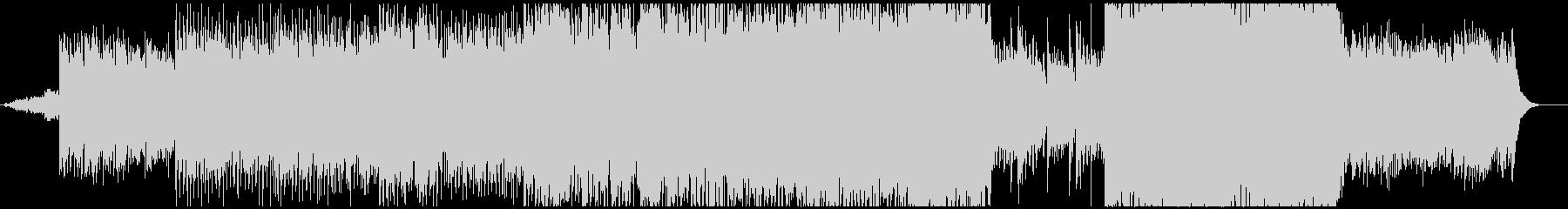 アコギを使用したゆったりとした映像的な曲の未再生の波形
