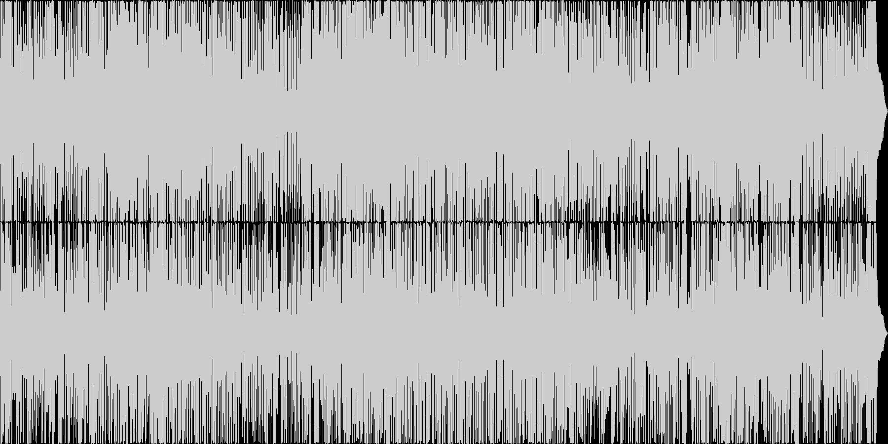 スイングジャズの未再生の波形
