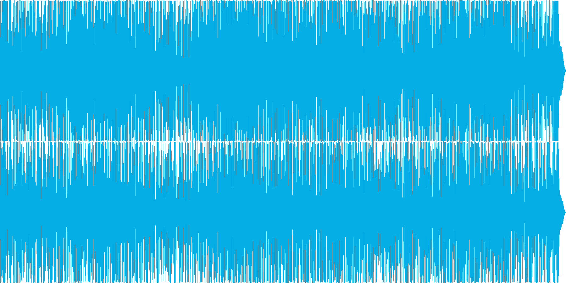 スイングジャズの再生済みの波形