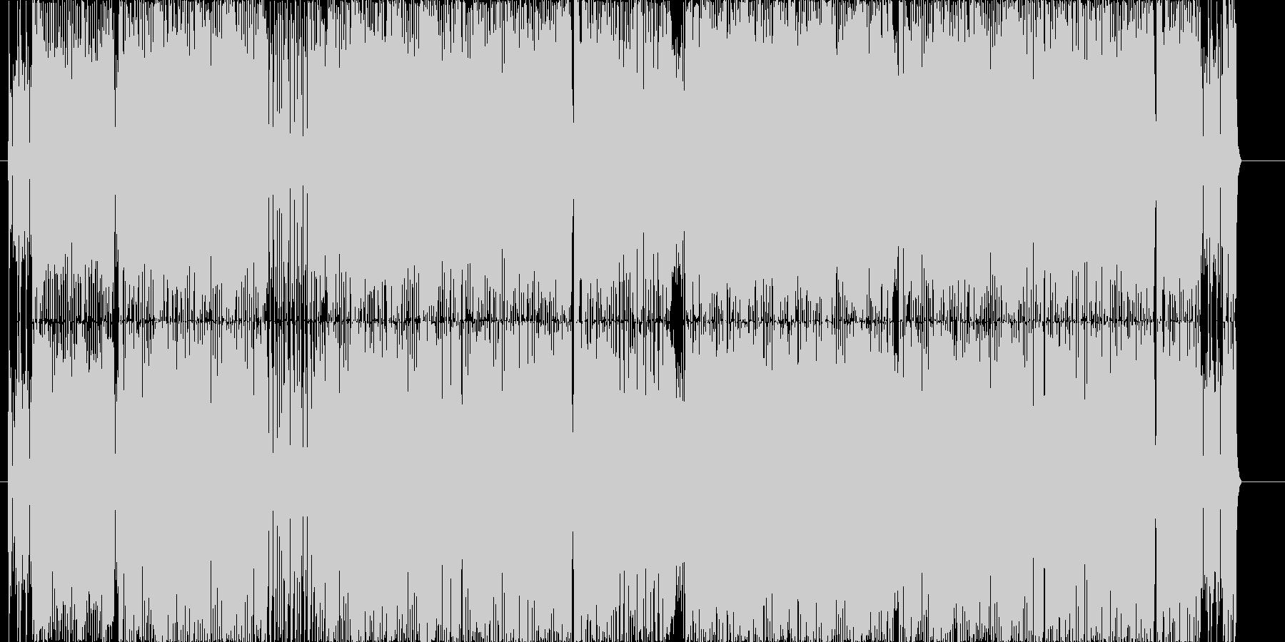 妖しいアンダーグラウンドなBGMの未再生の波形