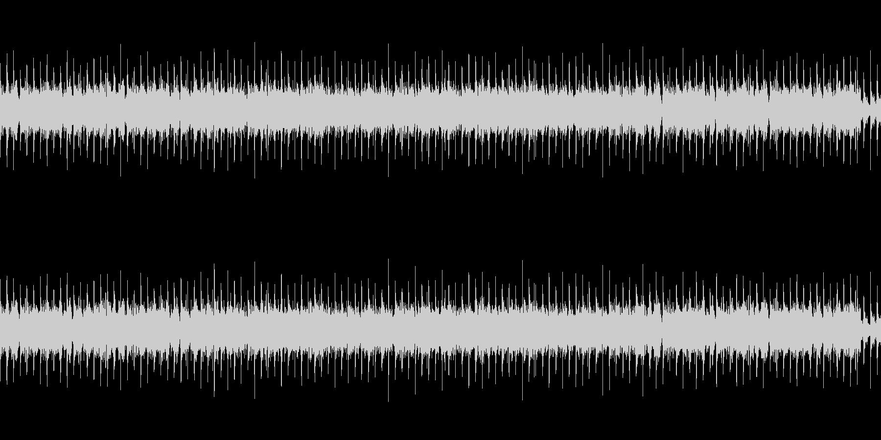 ドライブ感のあるヘヴィロックサウンドの未再生の波形