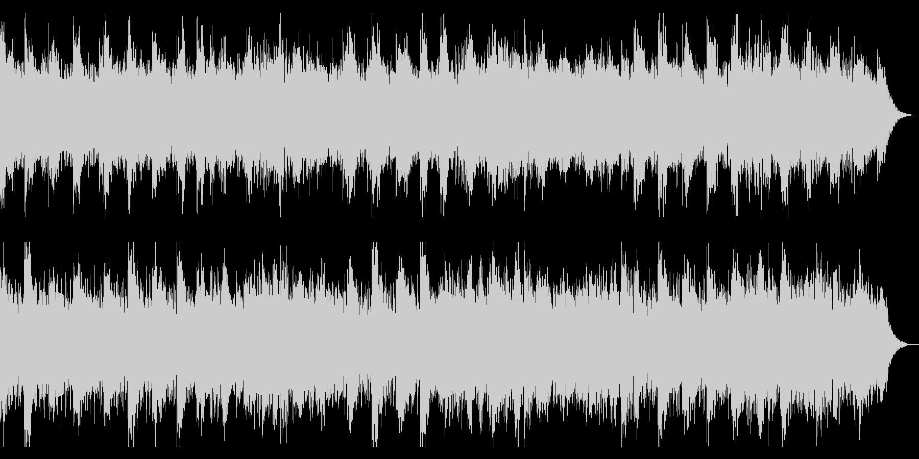ダークでホラー向け 怪しい感じのピアノの未再生の波形