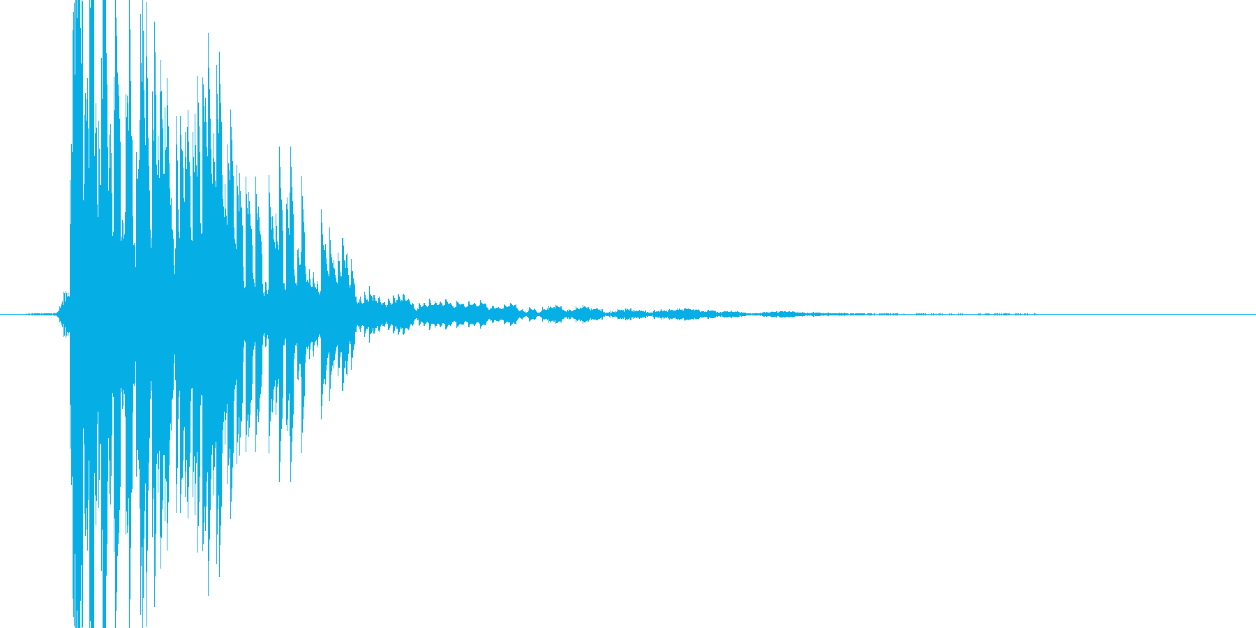 ぴゅんっの再生済みの波形