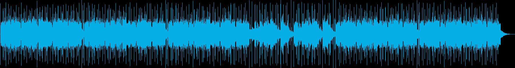 少し哀愁を感じるしっとりした琴の調べの再生済みの波形