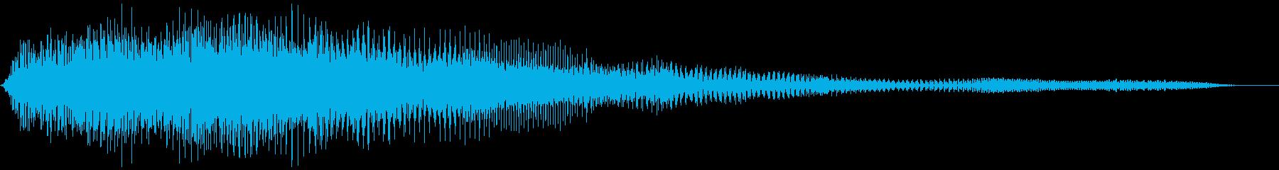 軋む(ドア、扉など) キィーゥーの再生済みの波形