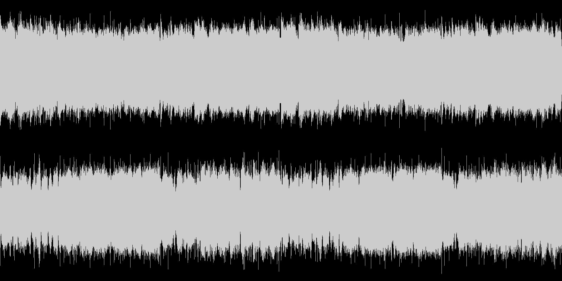 【ループ】ローファイなヒップホップの未再生の波形